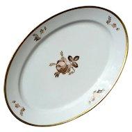 Vintage Royal Copenhagen Oval Rose Platter