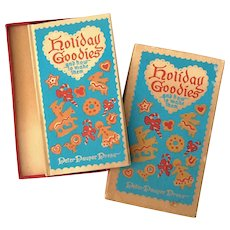Vintage Book Titled Holiday Goodies And How To Make Them, Circa 1952