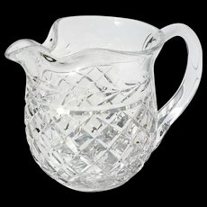 Fine Waterford Cut Crystal Pitcher