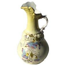 19th Century Austrian Amphora Porcelain Ewer