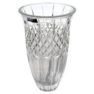 "Signed Marquis By Waterford 8"" Shelton Crystal Vase"
