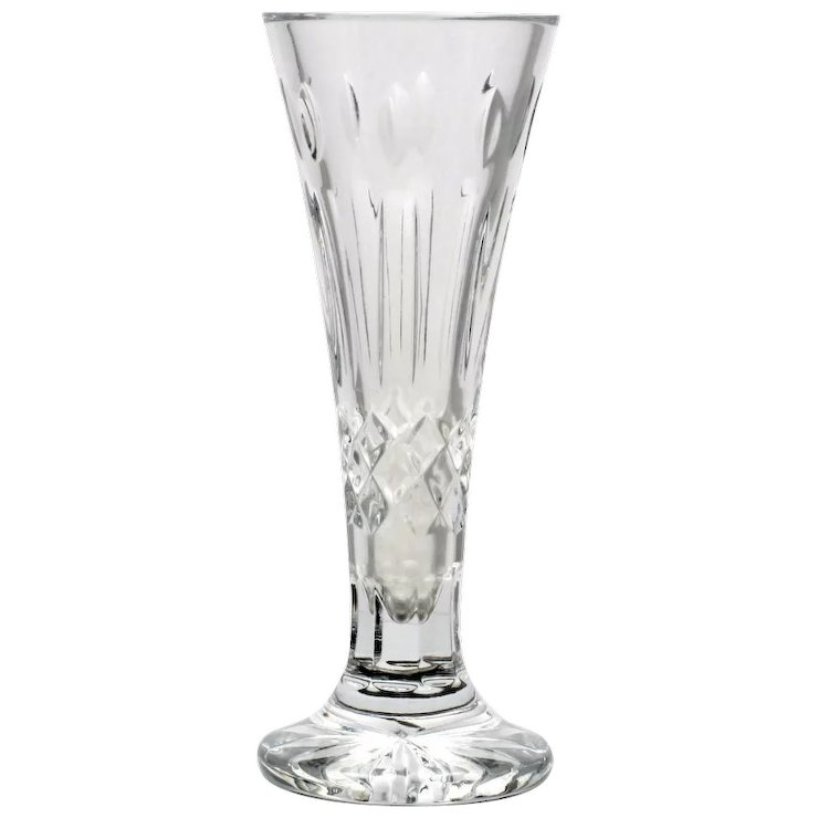 Waterford Crystal Happy Birthday Bud Vase Stephen A Kramer Ltd