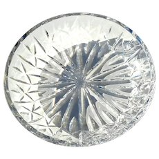 Signed Waterford Large Crystal Bowl