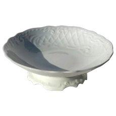 19th Century Ironstone Pedistal Bowl