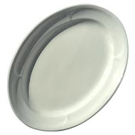 19th Century English Meir & Son Oval Ironstone Platter