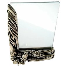 Vintage Italian Sterling Silver Picture Frame