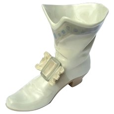 Vintage Retired Lladro Nao Large Warrior Boot