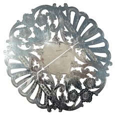 Vintage Signed Wallace Silver Plated Expandable Trivet