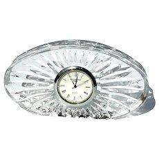 Vintage Signed Waterford Crystal Clock