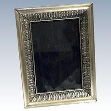 Vintage 800 Silver Picture Frame