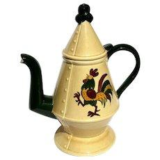 Vintage Poppytrail Vernon Coffee Pot & Lid in California Provincial by Metlox