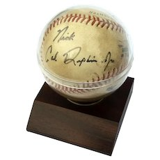Cal Ripken Jr Autographed Game Baseball