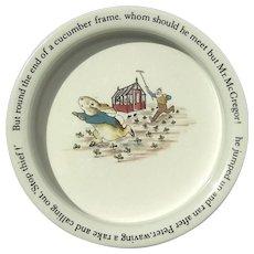 Wedgwood Peter Rabbit Child's Bowl