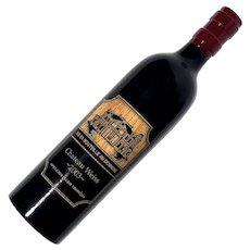 Wooden Wine Bottle Pepper Mill