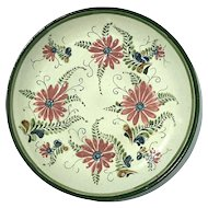 Vintage Signed El Palomar Mexican Hand-Painted Pottery Charger