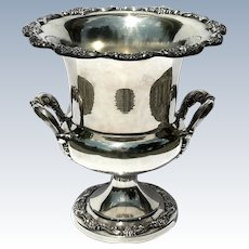 Vintage Poole Silverplated Champagne Wine Cooler