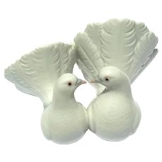 Lladro Porcelain Figurine Of Two Doves