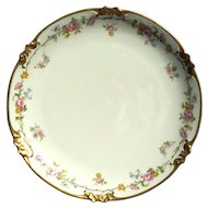 Vintage Signed Chas Field French Haviland Porcelain Plate