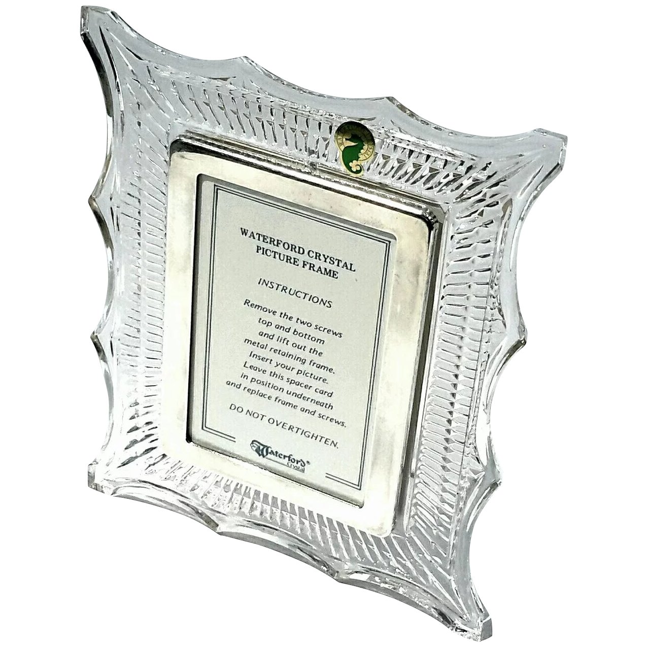 Signed Vintage Waterford Crystal Picture Frame : Stephen A. Kramer ...