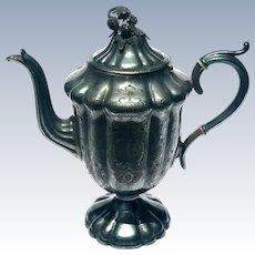 19th Century Victorian Silverplated Teapot