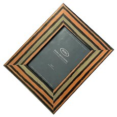 "Roma Moulding Moda, 2"" Numungo Veneer Hand-Polished Wood Picture Frame"