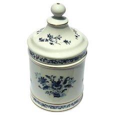Vintage Signed Vista Alegre Portuguese Porcelain Jar