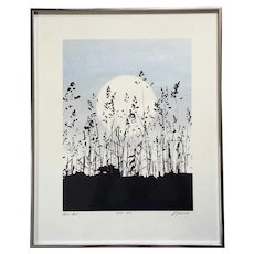 Signed Richard Ehrlich Original Artist Proof Serigraph Titled Still Air