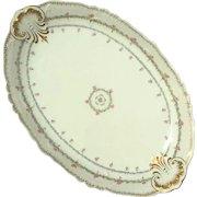 Antique Limoges Jean Pouyat French Porcelain Platter