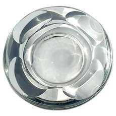 Signed Crystal Pipe Tray