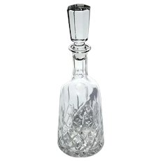 Vintage Cut Crystal Decanter