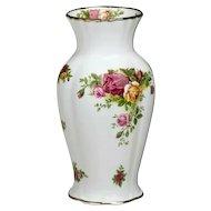 Royal Albert Old Country Roses Montrose Vase