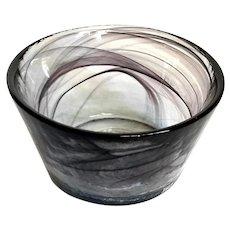 Kosta Boda Glass Mine Bowl
