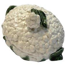 Antique Majolica Pottery Cauliflower Tureen