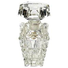 Imperlux Genuine Hand-Cut Lead Crystal Perfume Bottle Germany