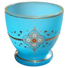 Antique French Opaline Glass Bowl