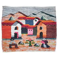 Hand-Made Peruvian Cotton Wall Hanging
