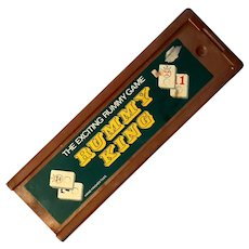Vintage Rummy King Game With Hand Finished Tiles