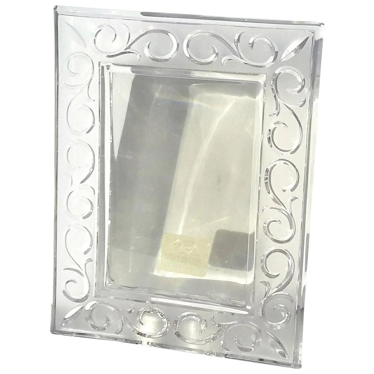 Marquis By Waterford Arabesque Crystal Picture Frame Stephen A