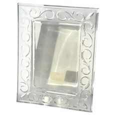 Marquis by Waterford Arabesque Crystal Picture Frame