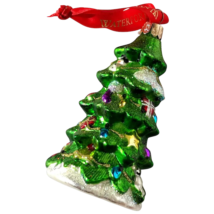 Waterford Christmas Ornaments.Waterford Holiday Heirlooms Christmas Tree Ornament