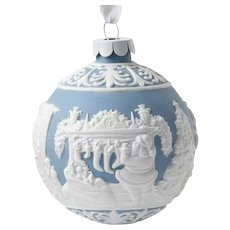 Wedgwood Jasperware Night Before Christmas Ball Ornament