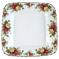 Royal Albert Old Country Roses Square Serving Tray
