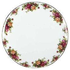Royal Albert Old Country Roses Cake Plate