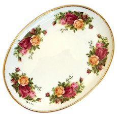 Royal Albert Old Country Roses Oval Tray