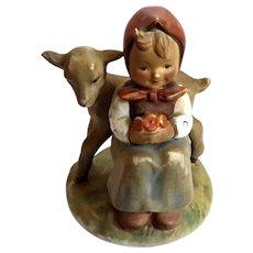 Hummel Girl With Lamb Good Friends Figurine
