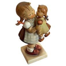 Hummel Girl With Doll Kiss Me Figurine 311 West Germany