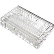 Tiffany & Co Atlas Crystal Box