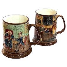 Pair Of John Beswick Collectors International Limited Edition Mugs