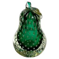 Vintage Italian Murano Glass Pear
