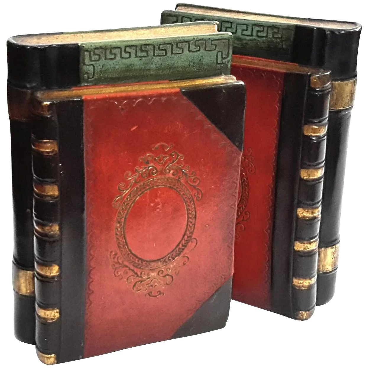 Vintage Borghese Faux Book Plaster